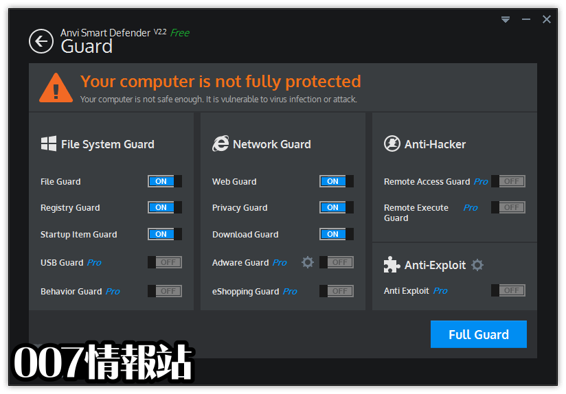 Anvi Smart Defender Screenshot 3