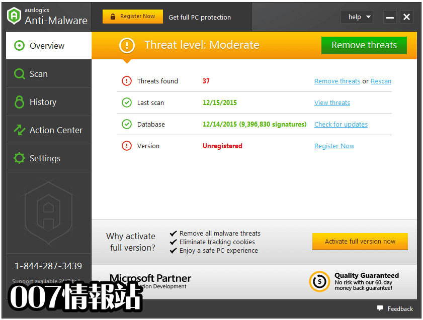 Auslogics Anti-Malware Screenshot 1