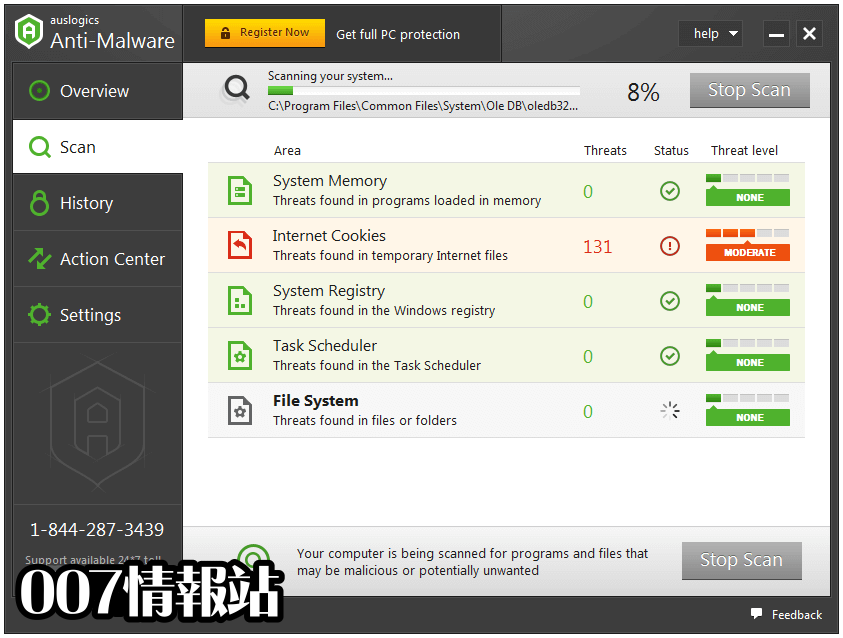 Auslogics Anti-Malware Screenshot 2