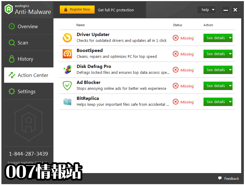 Auslogics Anti-Malware Screenshot 3
