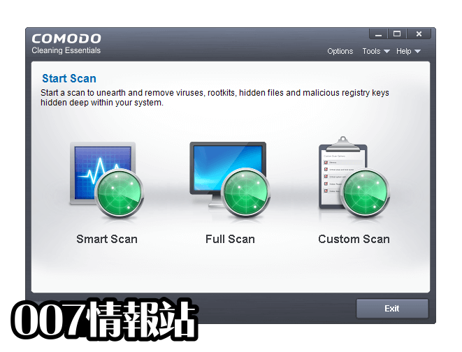Comodo Cleaning Essentials (64-bit) Screenshot 1