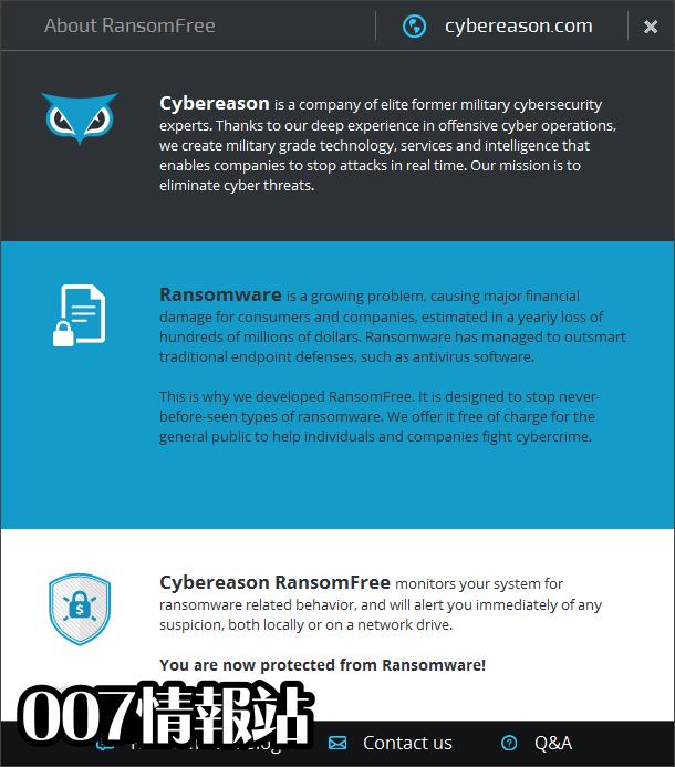 Cybereason RansomFree Screenshot 3