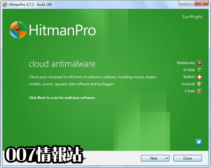 HitmanPro (64-bit) Screenshot 1