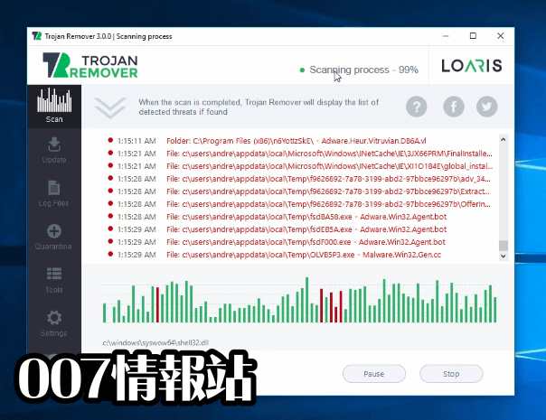Loaris Trojan Remover Screenshot 4