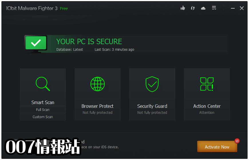 IObit Malware Fighter Free Screenshot 1