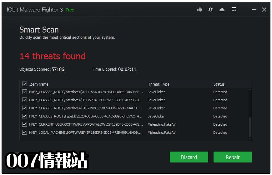 IObit Malware Fighter Free Screenshot 2