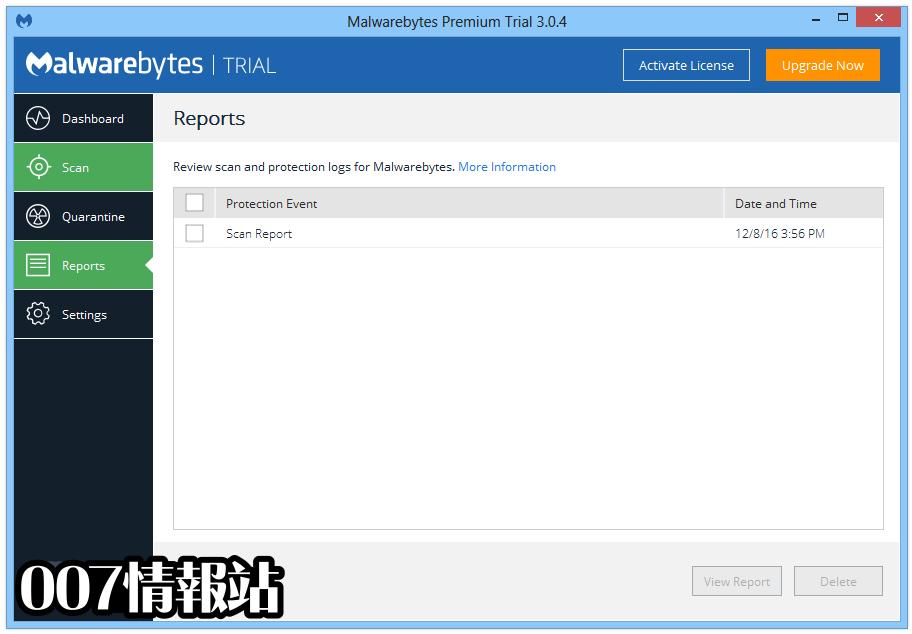 Malwarebytes Anti-Malware Screenshot 4