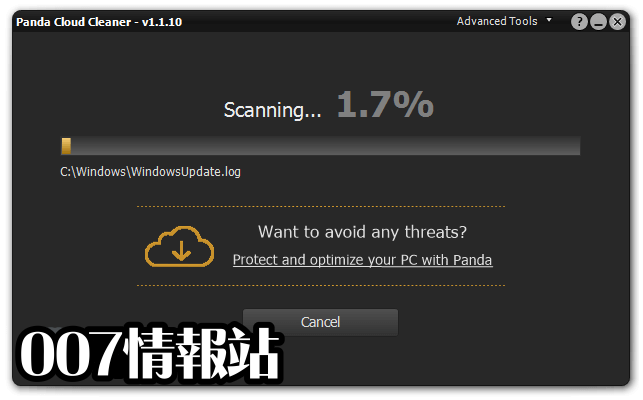 Panda Cloud Cleaner Screenshot 2