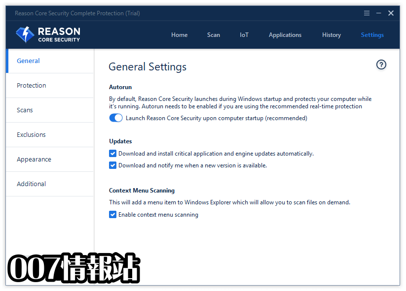 Reason Core Security Screenshot 5