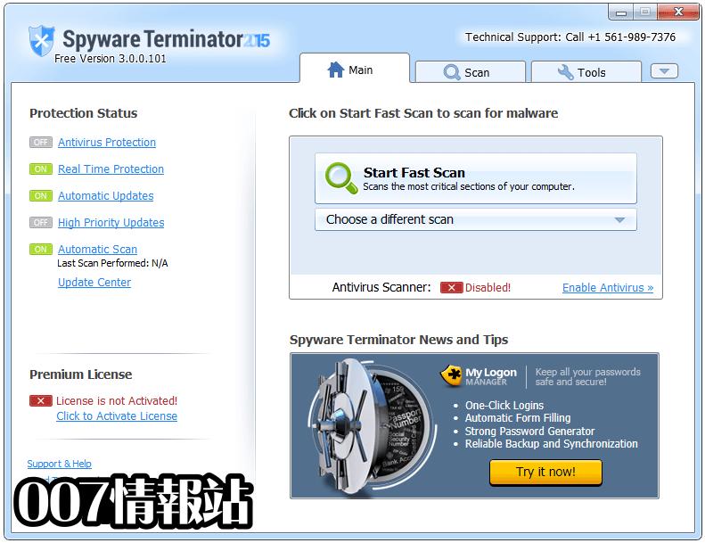 Spyware Terminator Screenshot 1