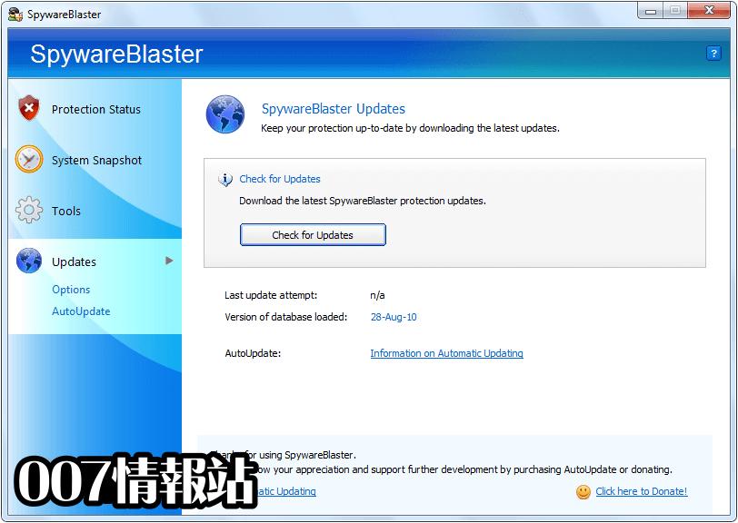 SpywareBlaster Screenshot 5