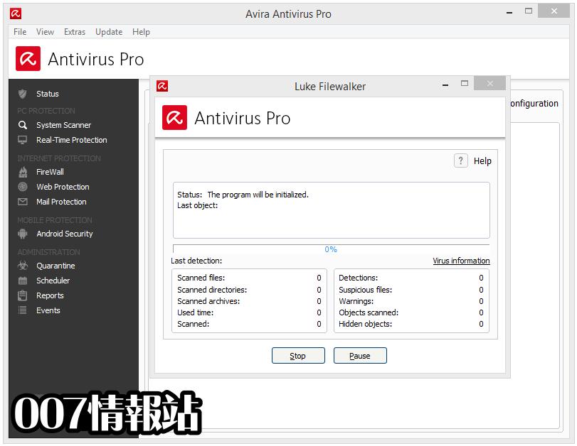 Avira Antivirus Pro Screenshot 2