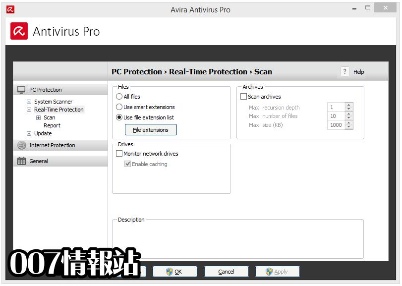 Avira Antivirus Pro Screenshot 3