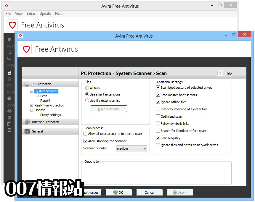 Avira Free Antivirus Screenshot 5