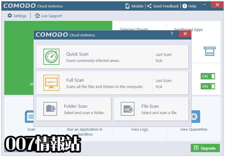 Comodo Cloud Antivirus Screenshot 3