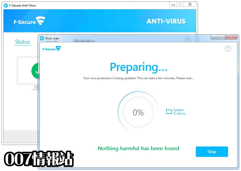 F-Secure Antivirus Screenshot 3