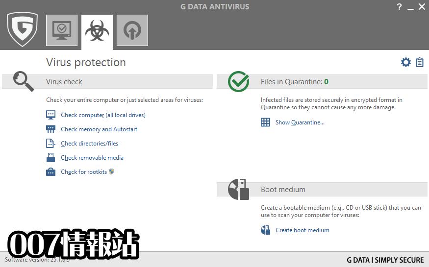 G DATA AntiVirus Screenshot 2