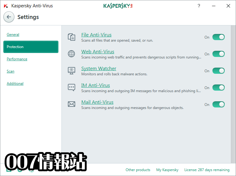 Kaspersky Anti-Virus Screenshot 3