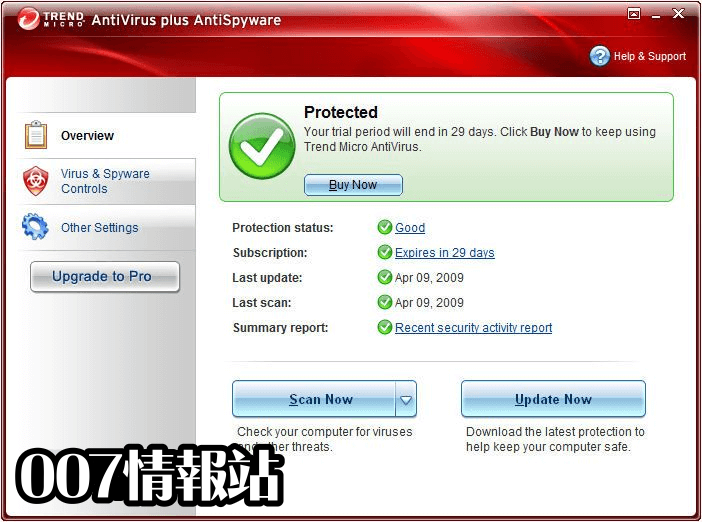 Trend Micro Antivirus+ (64-bit) Screenshot 1