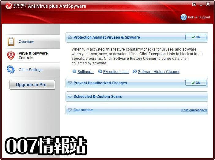 Trend Micro Antivirus+ (64-bit) Screenshot 3
