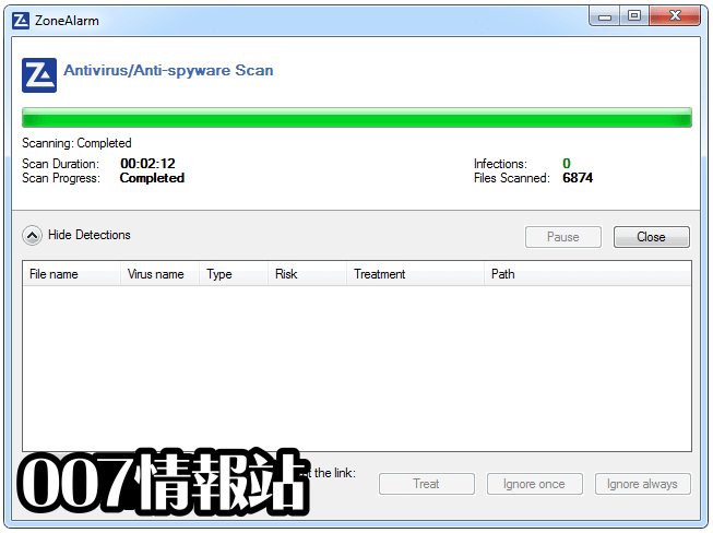 ZoneAlarm Free Antivirus Screenshot 3