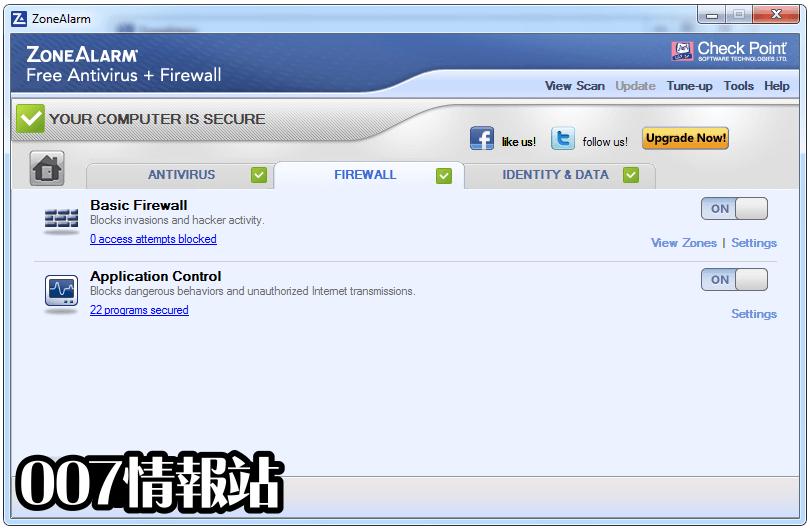 ZoneAlarm Free Antivirus Screenshot 4