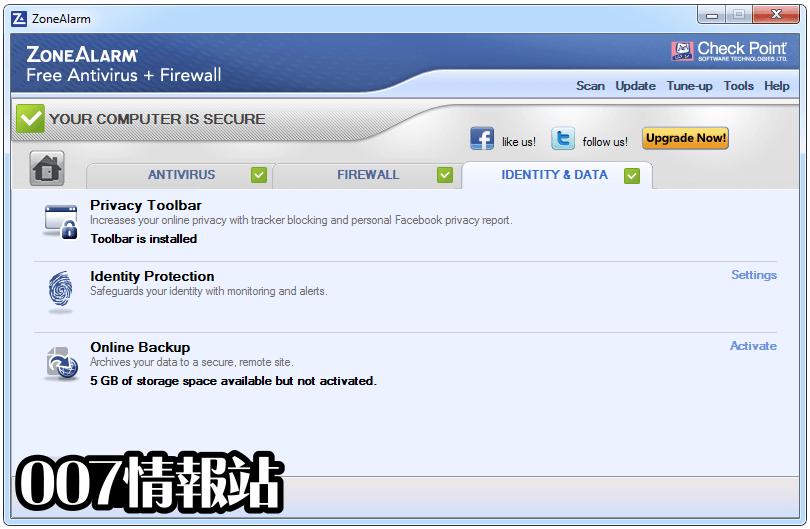 ZoneAlarm Free Antivirus Screenshot 5