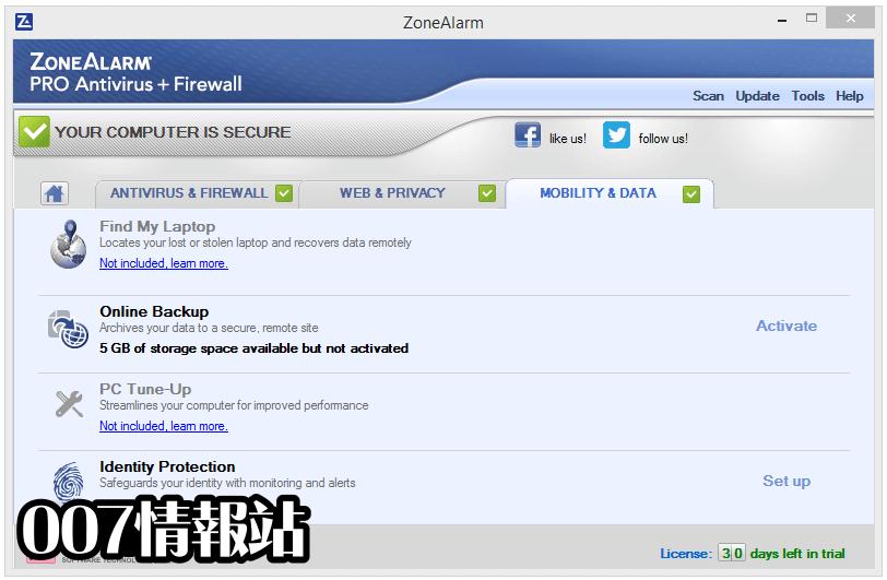 ZoneAlarm Pro Antivirus + Firewall Screenshot 5