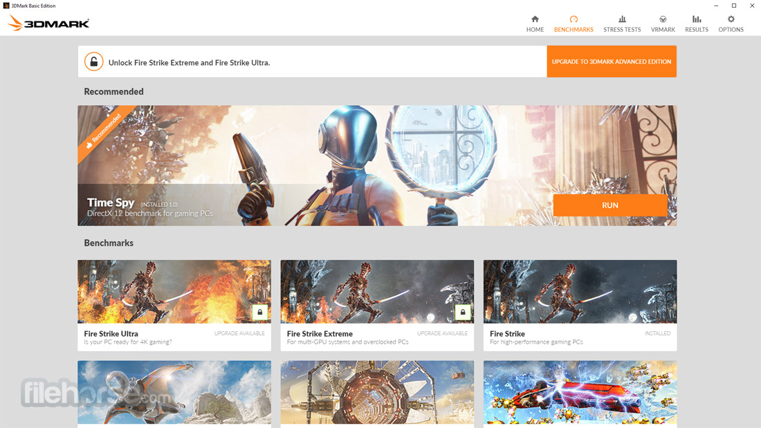 3DMark Basic Edition Screenshot 1