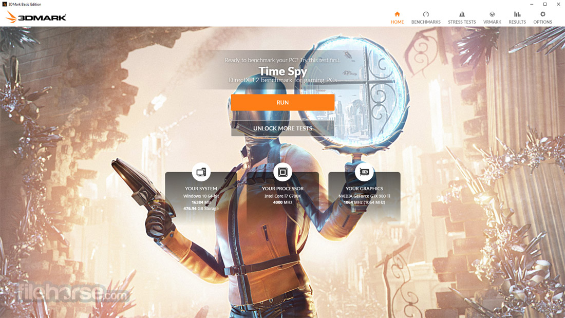 3DMark Basic Edition Screenshot 2