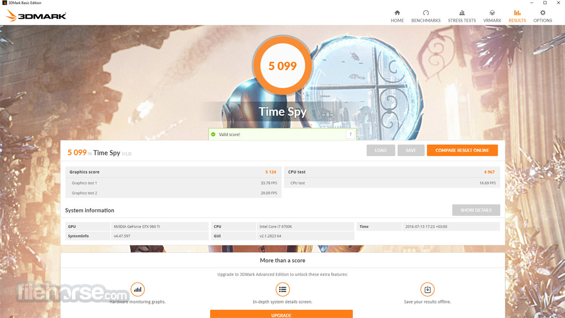 3DMark Basic Edition Screenshot 4