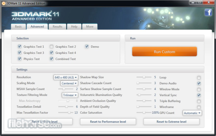 3DMark11 Screenshot 2