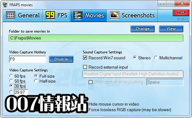 Fraps Screenshot 3
