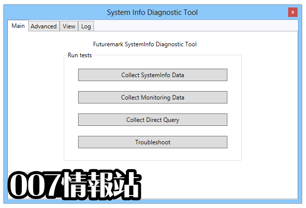 Futuremark SystemInfo Screenshot 1