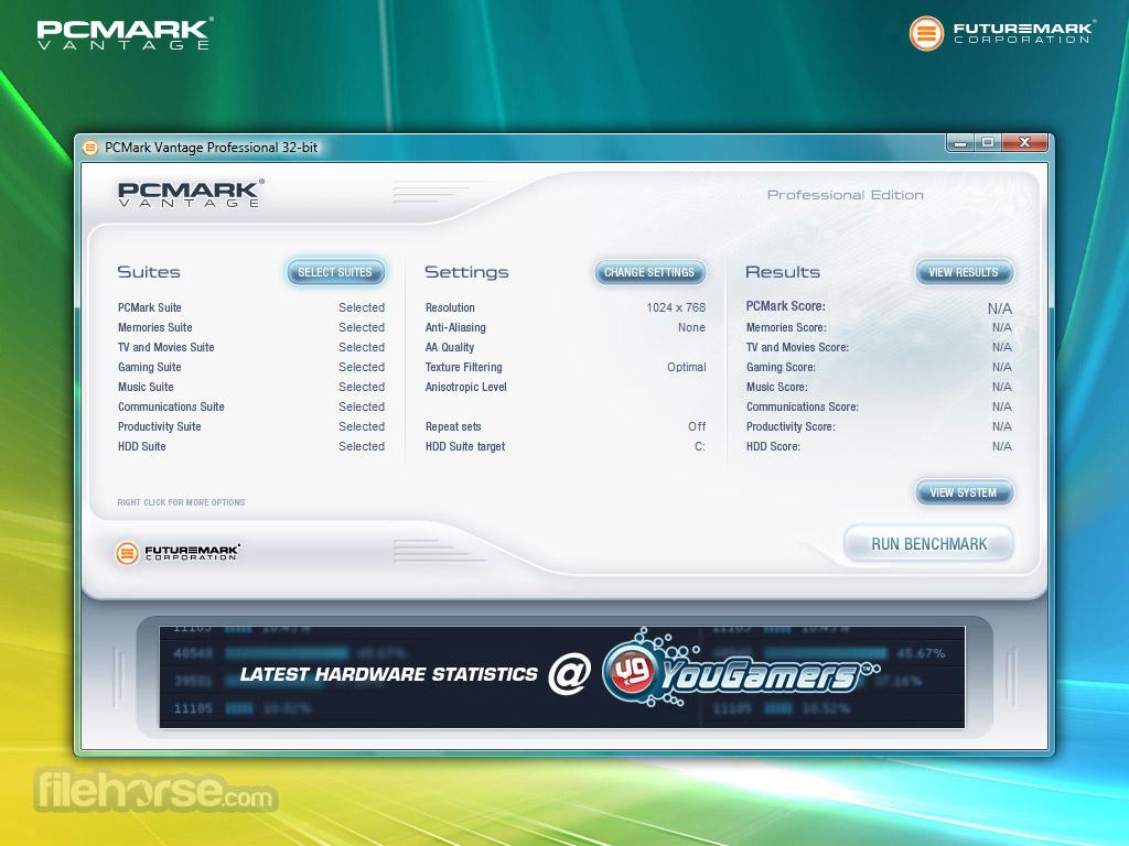 PCMark Vantage Screenshot 1