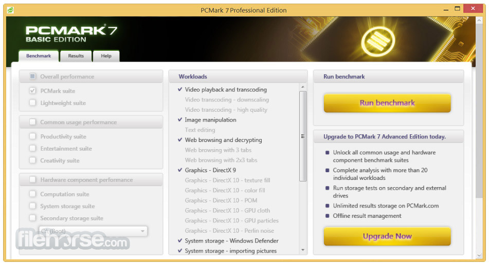 PCMark 7 Screenshot 2