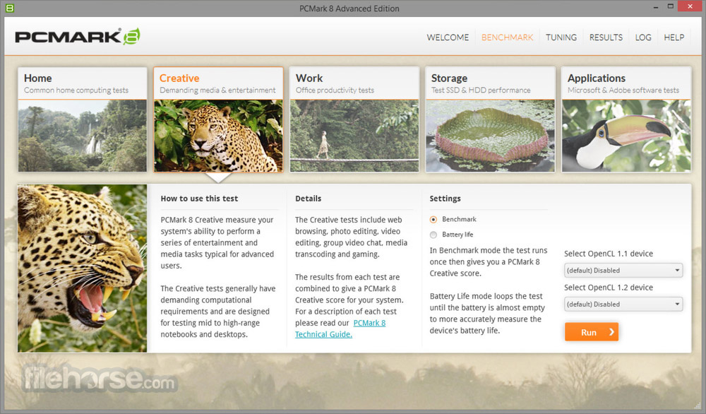 PCMark 8 Screenshot 1