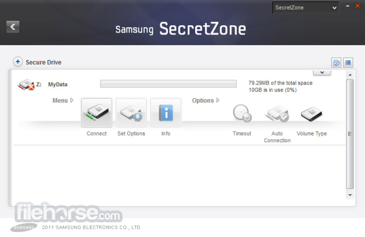 Samsung Drive Manager Screenshot 5