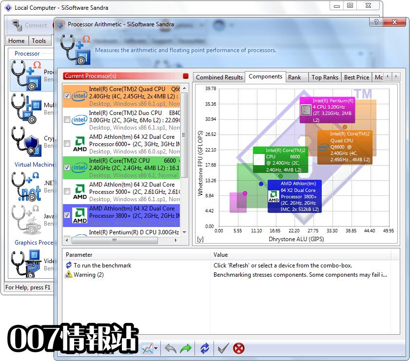 SiSoftware Sandra Lite Screenshot 3