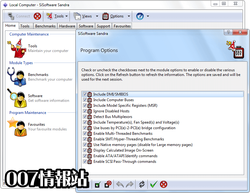 SiSoftware Sandra Lite Screenshot 5