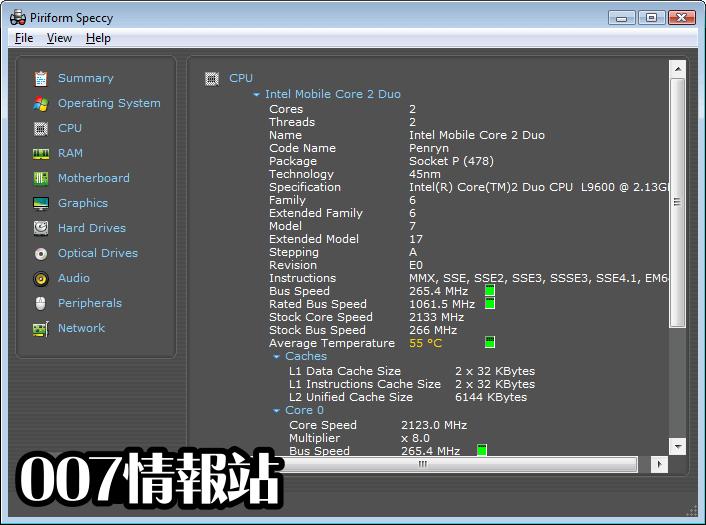 Speccy Screenshot 2