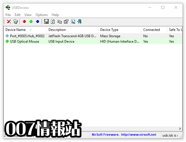 USBDeview (64-bit) Screenshot 1