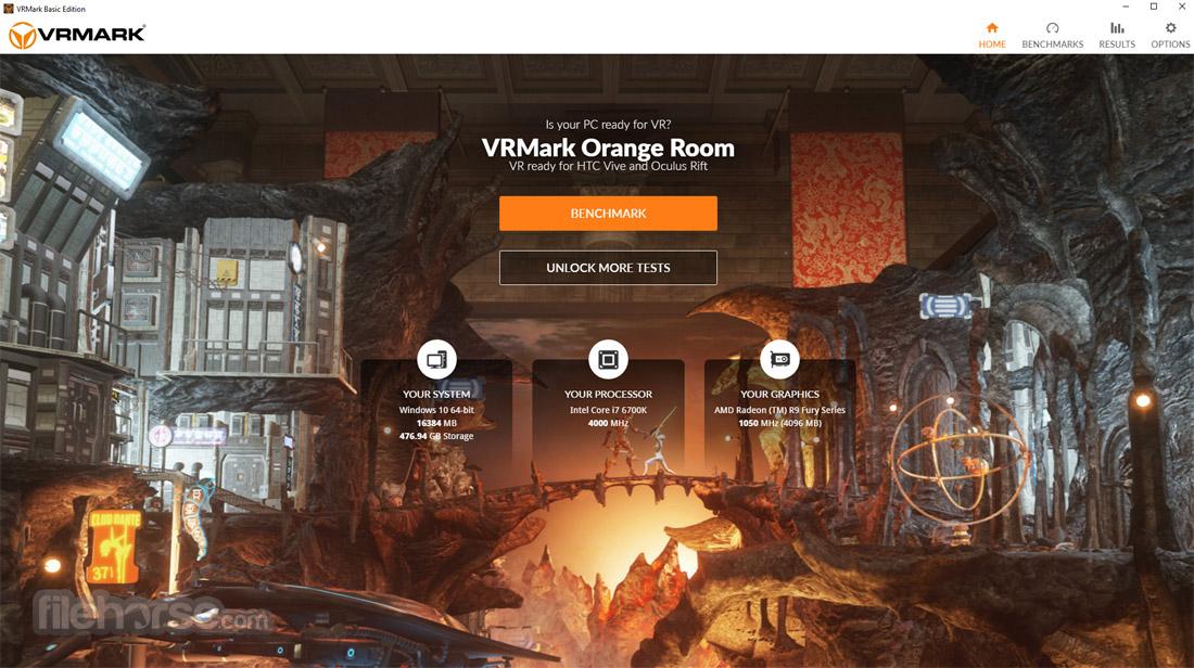 VRMark Basic Edition Screenshot 1
