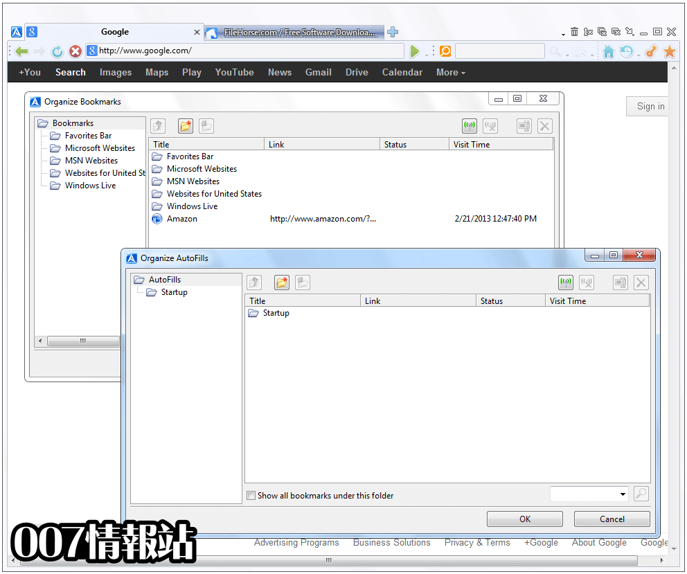 Avant Browser Screenshot 2