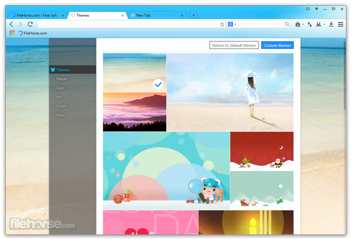 Baidu Browser Screenshot 2