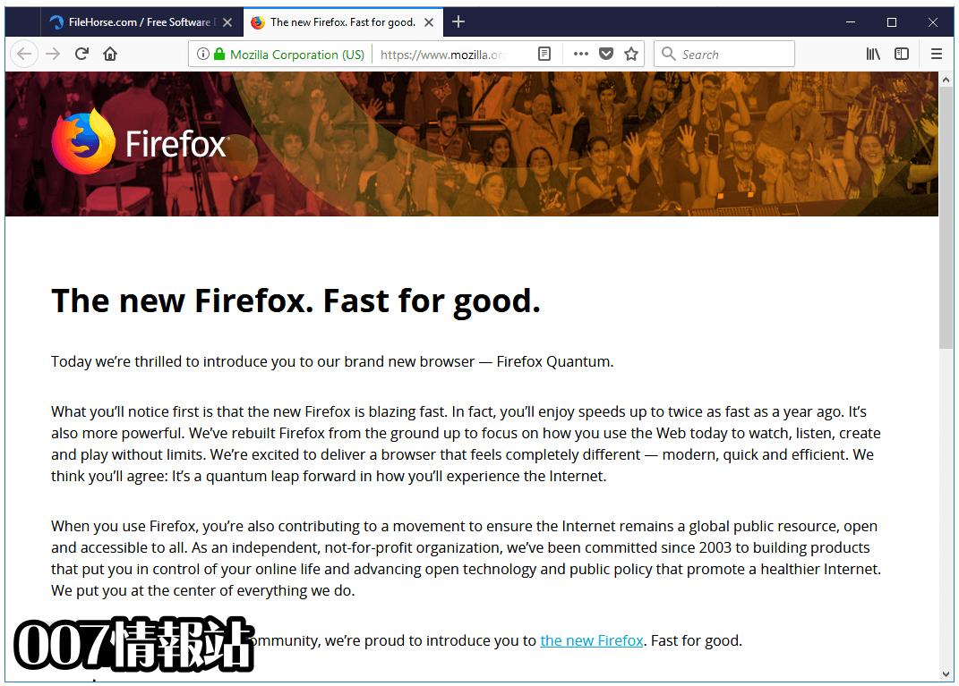 Firefox (64-bit) Screenshot 1
