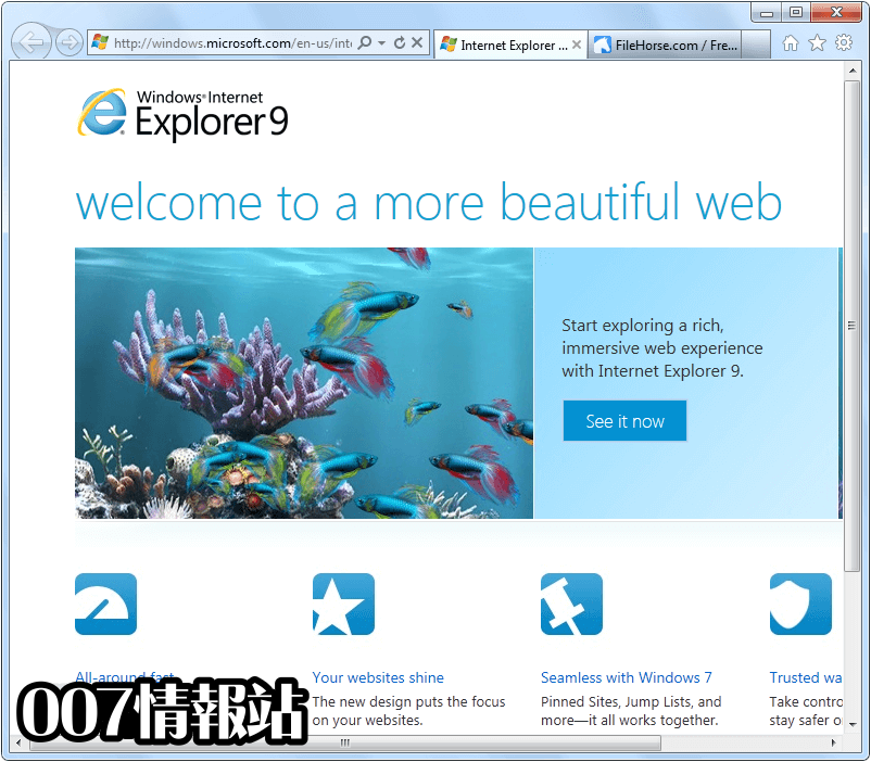 Internet Explorer (Windows7 64) Screenshot 1