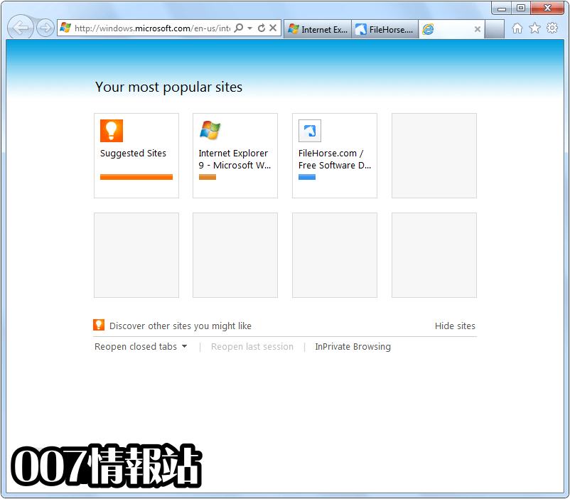 Internet Explorer (Windows7 64) Screenshot 2
