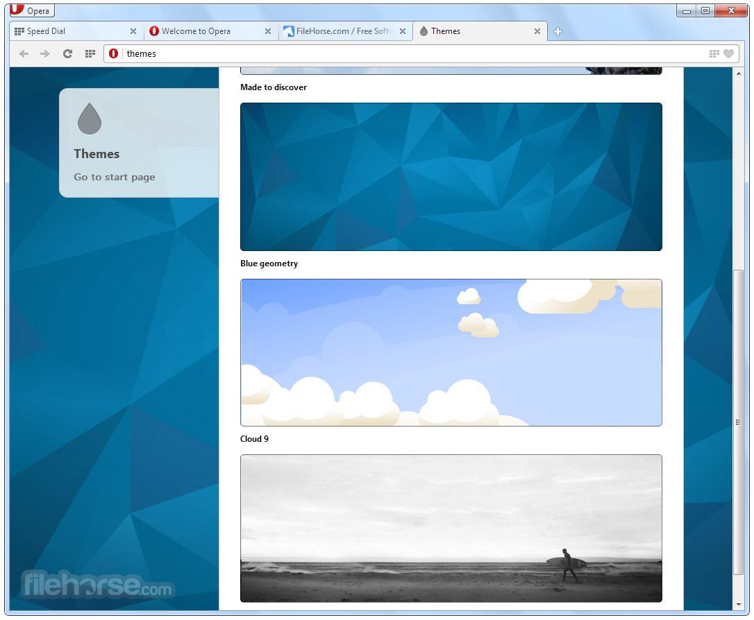 Opera (64-bit) Screenshot 4