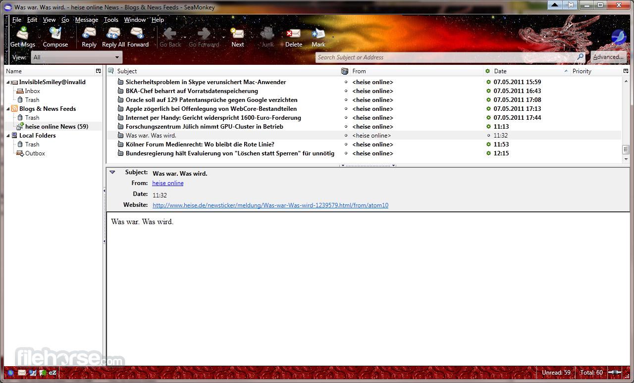 SeaMonkey Screenshot 4